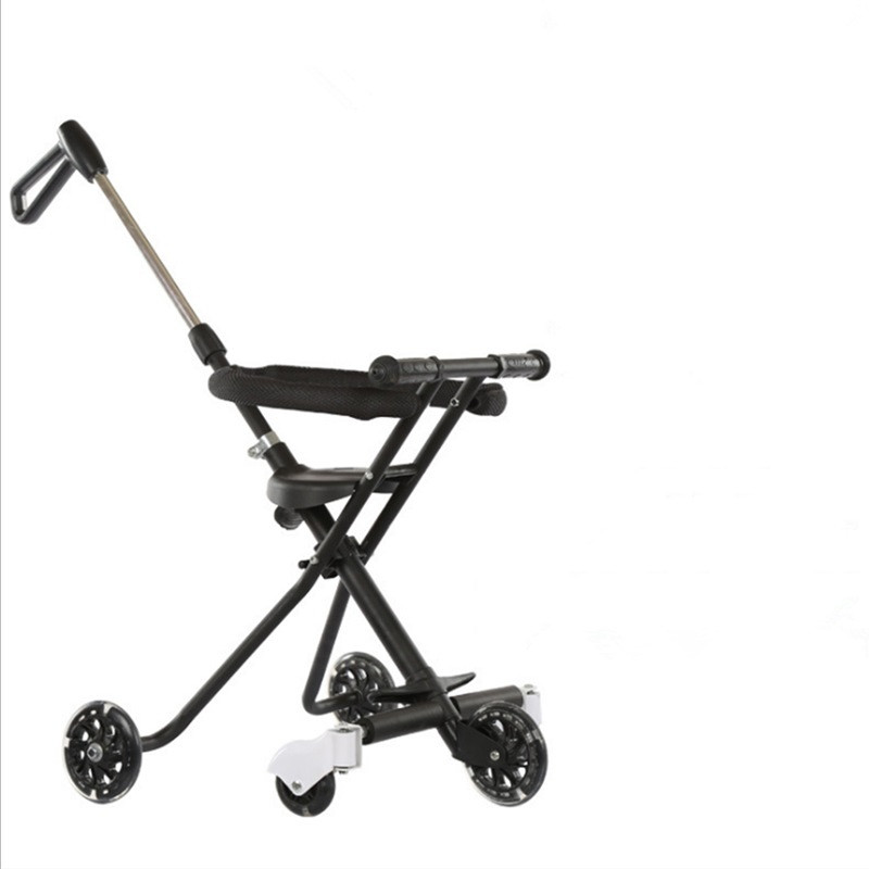 Children\'s Five-Wheeled Baby Anti Rollover Portable Folding Car Mother & Kids Activity & Gear Baby Stroller Lightweight Stroller02