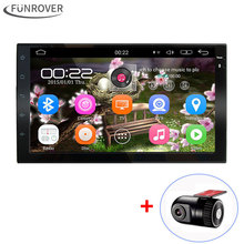 7 inch 2 Din Android 5.1 Car Dvd Player Audio Stereo For Universal Gps Navigation Steering-Wheel 2Din Radio Recorder Wifi Map