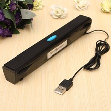 Hot!!!Brand New High Quality Portable Speaker USB Mini Speaker Music Player For Computer Desktop PC Laptop Notebook Speaker