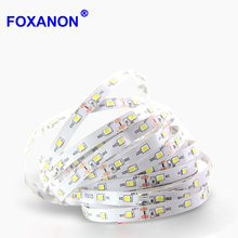 5M or 10M /Roll SMD 2835 More Brighter Than 3528 5050 SMD LED Strip light DC 12V 60LEDs/M Indoor Decorative Tape White RGB