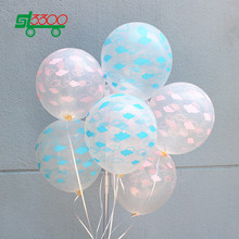 SL3300 12 Inch 3g 100pc Clear Balloons Party Supplies Wedding Decoration Baby Birthday Transparent Inflatable Ballons(China)