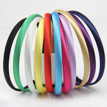 Fashion Girls Headbands Kids Satin Headbands Children Headbands Elasticity Hair Accessories 120pcs/lot 28 Colors