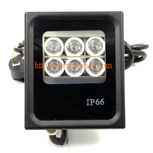 6 PCS LED 30M IR Infrared Illuminator IP66 light lamp For CCTV security camera DC/AC Angle 15-90 Degrees Optional (SI-B6IR)
