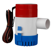 750GPH 1100GPH 12V 24V Bilge Pump 2m3/h small DC Submersible Solar water pump Fountain garden irrigation swimming pool(China)