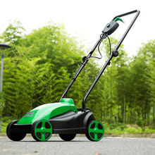 New Arrival 1500W Home Electric Lawn Mower Touching Lawn Mowers Push-type Lawn Mower 230V-240V / 50Hz 330mm 2900r/min Hot Sale