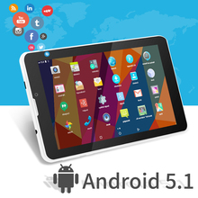 Hot Sale E706 Tablet PC 7 inch Dual Camera Quad Core  WiFi/Bluetooth Android 5.1 MTK8321 Quad Core IPS 1024*600
