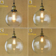 Retro Vintage antique dining room table creative industry luminaria art semicircular chain pendant lights fixture