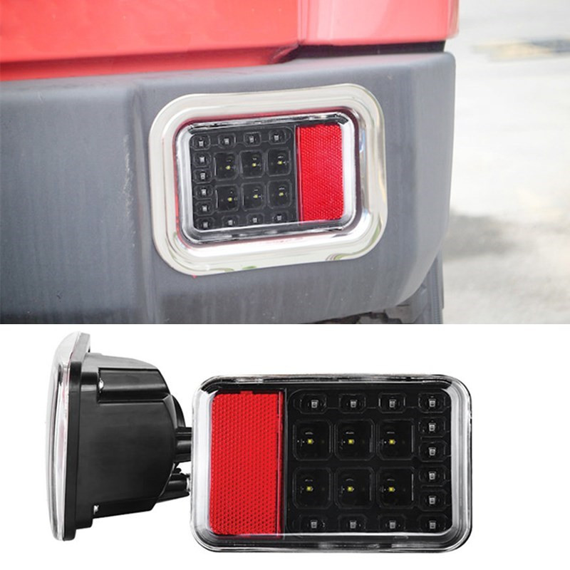 Suparee 2017 Auto 12V Lamps Car LED Tail Light Wrangler JK LED Brake Tail Lights Assembly For Jeep Wrangler JK 07-15 TailLights<br>
