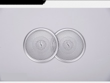 Angelguoguo 2pcs Aluminium alloy Car Audio Speaker Car Door Loudspeaker Trim Mesh cover For Mercedes Benz ML Class GL Class GLE(China)