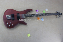 6. Hot sell new Frosted matte electric bass pick custom piano business bass guitar