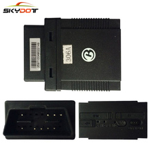 SKydot GPS Tracker TK306A Vehicle GSM Locator GPS306A Plug & play OBD2 II Tracking Device Locate & Manage OBD Car via SMS or GPR(China)