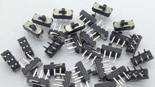 20pcs MSS22D18 MINI Miniature DIP Slide Switch 2P2T 6Pin for DIY Electronic Accessories