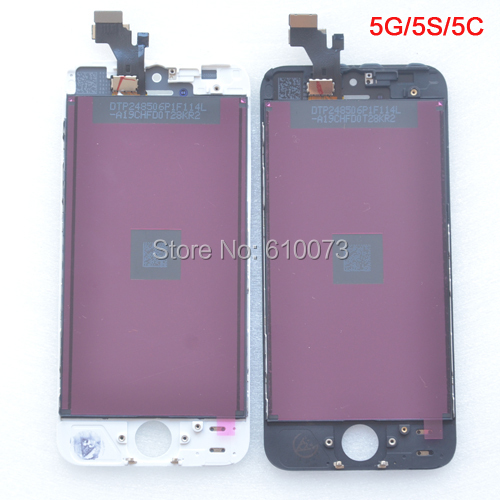 10pcs/lot No Dead Pixel Display for IPHONE 5 SE LCD Assembly Replacement Touch Screen Digitizer for iphone 5C 5S LCD White/Black<br><br>Aliexpress
