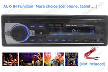 Hot sale 12V Car Radio MP3 Audio Player Support Bluetooth function USB/SD MMC Port Car In-Dash w/remote control 1 din in dash(China)