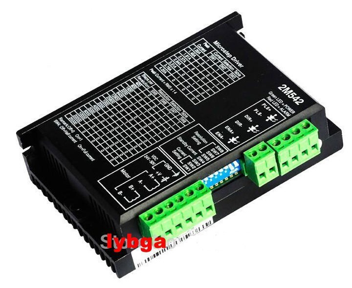 2 Phase Bi-polar Micro Controller CNC Stepper Driver 2M542 4.2A 200KHz<br><br>Aliexpress