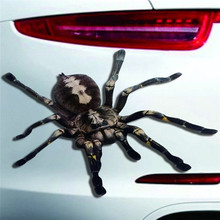 Buy Halloween Car 3D Spider Sticker Mural Decor Decal Removable Terror New 2017 Car-styling Auto Stickers for $1.20 in AliExpress store