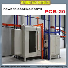 PCB-20 Double working Stations Manual Coating Booth / powder coating room