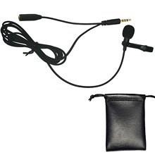Mini Lavalier Clip-on Lapel Hands-free Microphone Mic for Computer Laptop Tablet PC Skype Conference Mobile Cell Phone Recording