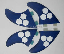 G5 G7 Surf fins Quad Set FCS Glassfiber Honeycomb surf fin surfboard SUP 2*G7 side fins ,2*G5 rear fins(China)