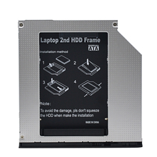 Brand New 2nd HDD Caddy 9.5mm SATA 3.0 Chipset SSD Hard Drive Disk HD Enclosure for HP EliteBook 2530p 2540p Optical Bay ODD(China)