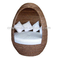 2014 Outdoor Furniture Modern Balconies Wicker Rattan Modern Pod Chair