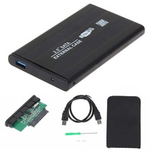 Enclosure-Box External-Storage Disk Sata-Hdd-Case Hard-Drive SSD Notebook with Usb-3.0