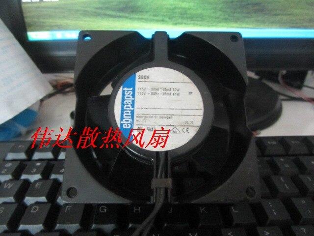 papst 9CM  9038 TYP3606 AC115v 140ma 12w 11w Cooling fan<br>