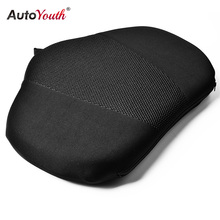 AUTOYOUTH 1PCS Car Lumbar Support Pillow Massage Lumbar Cushion Car Seat Pillow Lumbar Support For Back Support Pad Seat(China)