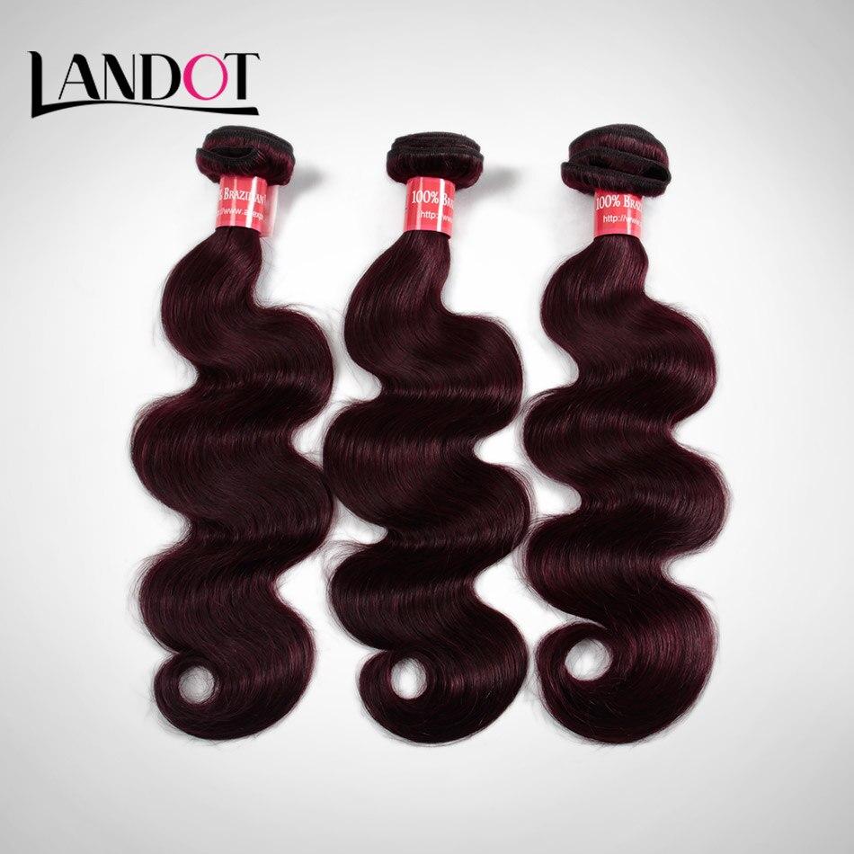 Burgundy Brazilian Hair Weave Grade 7A Brazilian Virgin Remy Hair Body Wave 3 Bundles Red 99J Brazilian Human Hair Extensions<br><br>Aliexpress