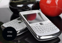 in stocked Refurbished Original Blackberry 9780 Bold Mobile Phone Unlocked GSM/WCDMA QWERTY Keyboard 5MP Camera, Free Shipping(Hong Kong)