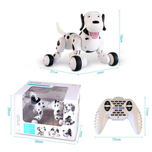 New 2.4G Wireless Smart Remote Control Robot Dog Electronic Pet Animal Kids Educational Toys Kids Toys Dancing Robot Dog W088