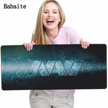 Babaite New Diy Mouse pad Navi Natus For Vincere Logo Pattern Soft Non-slip Rectangle Mat For Notebook Computer Game Mouse Pads