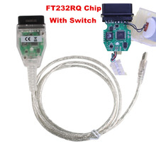 New INPA K+CAN For BMW With FT232RQ Chip with Switch For BMW with 8 Pin and K-LINE Protocol From 1998 to 2008 Better Than FT232R