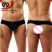 Buy WJ Jockstrap Gay Erotic Men Underwear Sexy Erotic Homens Mens Thongs G Strings Tanga Hombre String Homme Mens Thong