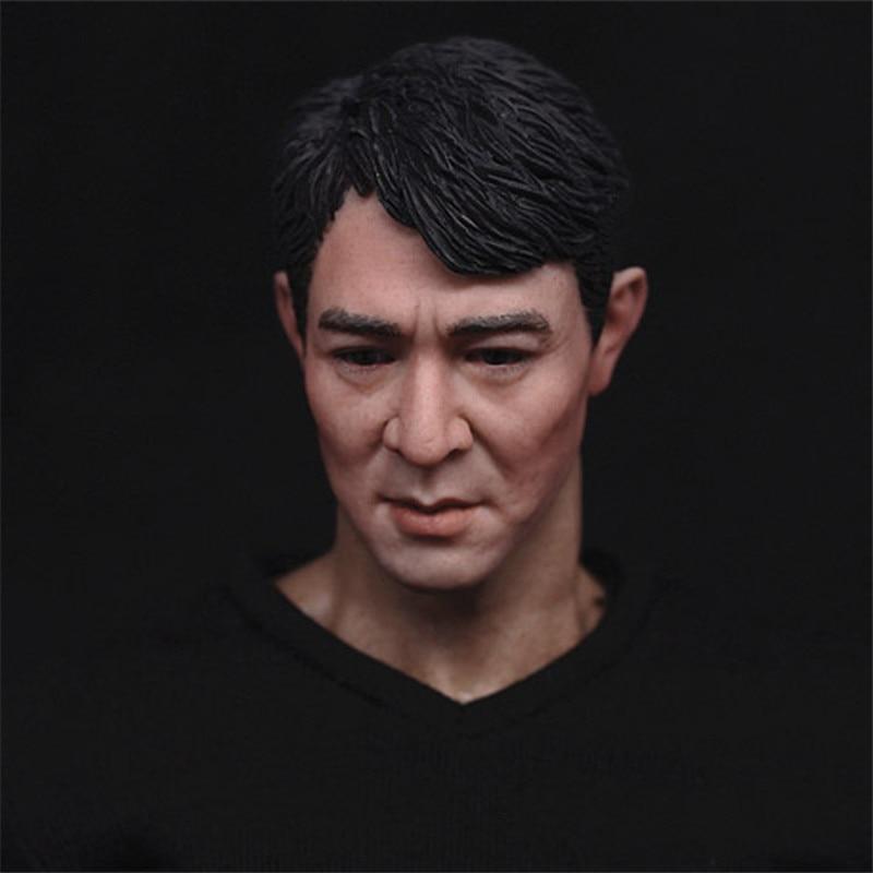 Mnotht Toy 1/6 Jet Li Head Sculpt Enterbay Bruce Lee Expendables Barney Hot Toys Body Pants Toys &amp; Hobbies l30<br>