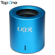 Mini LKER Fun Ultra-portable Bluetooth Speaker 360 Degree Stereo Surround HiFi Sound Box BT 3.0 for iPhone/iPad Mobile Phone PC