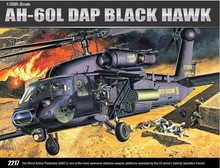 ACADEMY 12115 1/35 Scale AH-60L DAP Black Hawk Plastic Model Building Kit