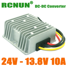 RCNUN Waterpoof 24V to 13.8V 138W DC to DC Car Power Converter 10A Step Down DC/DC Converters