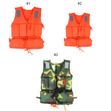 Child/Adult Buoyancy Life Vest Swimming Boating Safety Ski Survival Aid Jacket Life Vest Orange Professional Adult Life Jacket(China)