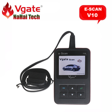 100% Original Vgate e-Scan V10 Auto Code Reader for All OBD2 Protocols/CAN Compliant Vehicle Diagnostic-tool Automotive Scanner