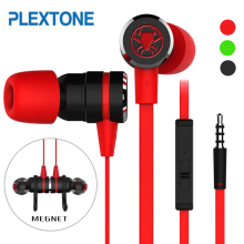 2017 Brand PLEXTONE G20 In-Ear Game Earphone Headset Bass with Noise Cancelling for Computer Gamer CellPhone Tablet PC Gaming