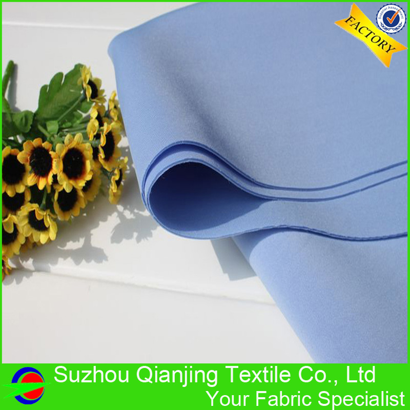 Fashionable high quality factory price knitted drapery blue neoprene fabric(China (Mainland))
