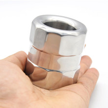 Buy Scrotum Pendant Scrotal Pendant Stainless Steel Ball Stretchers Cock Ring Weight-bearing Ring Sex Toys Male B2-2-145