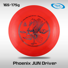 Professional Yikun Disc Golf Driver Phoenix Line Jun Red Free Shipping PDGA Approval Outdoor Sports Flying Disc Frisbee Golf(China)