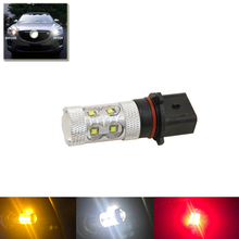 Cree Chips Led 50W P13W 12277 PS13W H18 PG18.5D-1 White Red Amber Bulb Light Replacement Halogen HID Lamps Car Styling Car Light