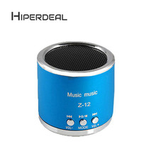 HIPERDEA Wireless Portable Mini Speaker FM Radio USB Micro SD TF Card MP3 Player Subwoofer Loudspeakers Fashion WithTF FM Sep6