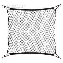 Car Mesh Cargo Net Holder Trunk Auto Elastic Storage 4 Hook For Volkswagen POLO VW passat CC TIGUAN touran GOLF jetta Octavia