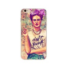 Frida kahlo mexican painter Case cover For Apple iphone 6s 7 7plus SE 5 5S  case cover
