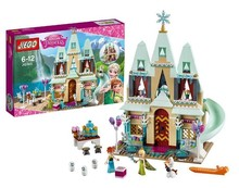 2016 New JG303 Building Blocks Arendelle Castle Princess Anna Elsa Figures Buildable Figures Compatible With Lepin SY371