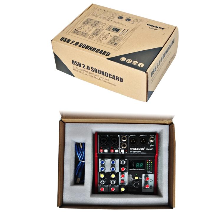 UM-66  17  Audio Mixer